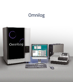 The OmniLog instrument and associated software allows for real-time recording and kinetic analysis of electron flow rates.